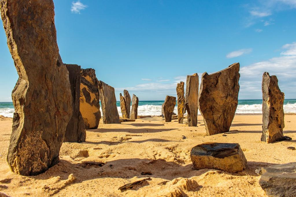 Things to do in Algarve, Portugal - Beach in Algarve - Stone formations on the Best Beaches in Algarve
