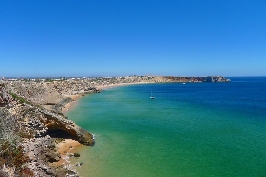 Things to do in Algarve, Portugal - Beach in Algarve - Turquoise waters on the Best Beaches in Algarve Portugal