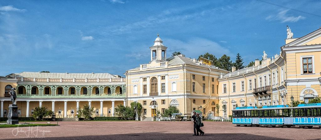 St. Petersburg Russia: Paul I's Palace at Pavlovsk