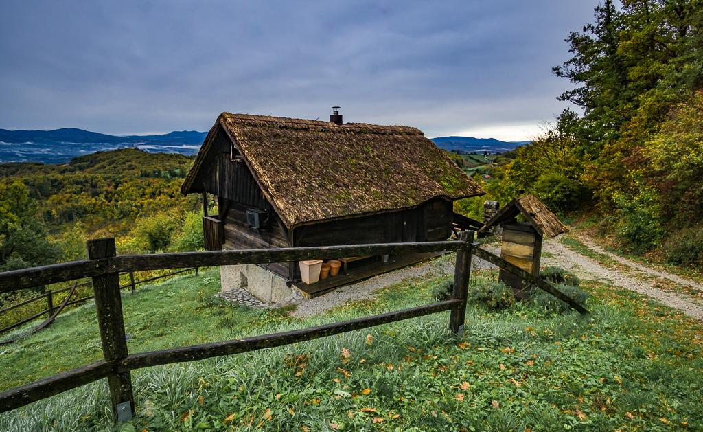 Vineyard cottages in Slovenia - Dolenjska region Slovenia - Best Slovenia Hiking Trails