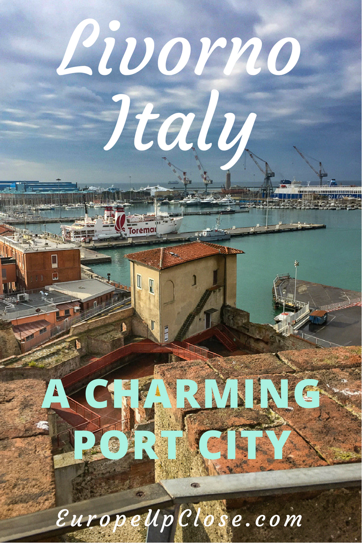 Port Livorno, a Tuscan Seaside city with a modern port and a vintage fishing village charm