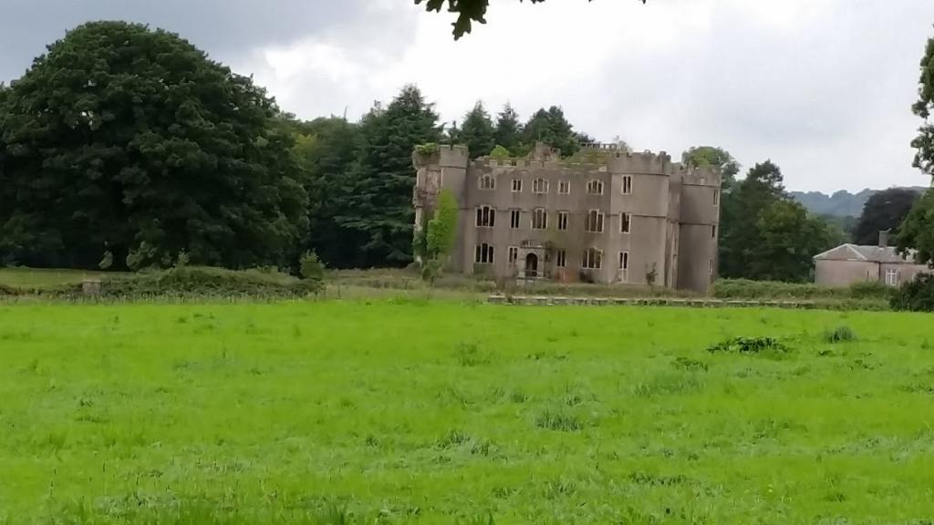 Ruppera Welsh Castle in South Wales
