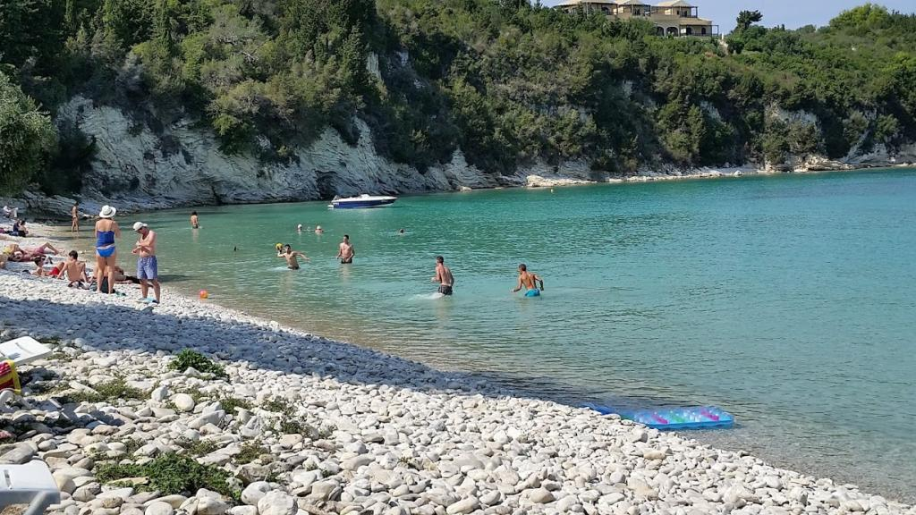 Beautiful Beaches of Paxos Island Greece