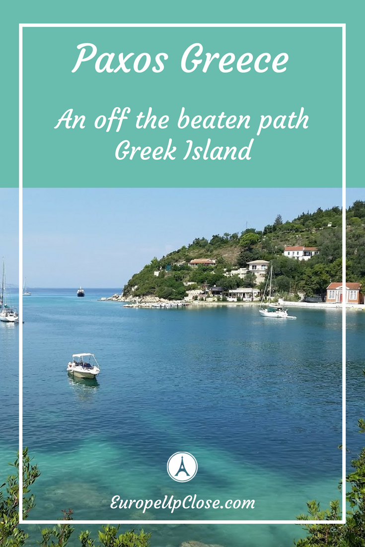 Paxos Island Greece - From Hotels in Paxos to Things to see and do in Paxos Greece #Greece #Greekislands #Greekvacation