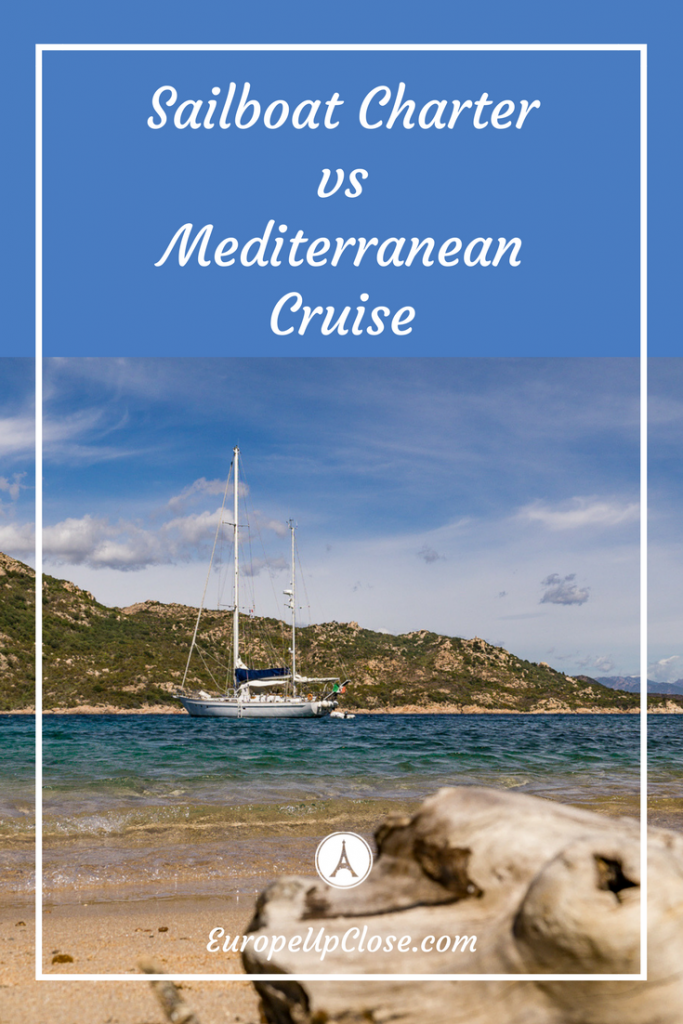 Sailboat Charter vs Mediterranean Cruise: Which one should you pick? #Sailboat #sailing #Cruise #Mediterranean #Europe #Cruising