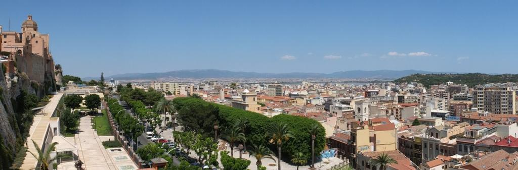 South Sardinia - Panorama of Cagliari