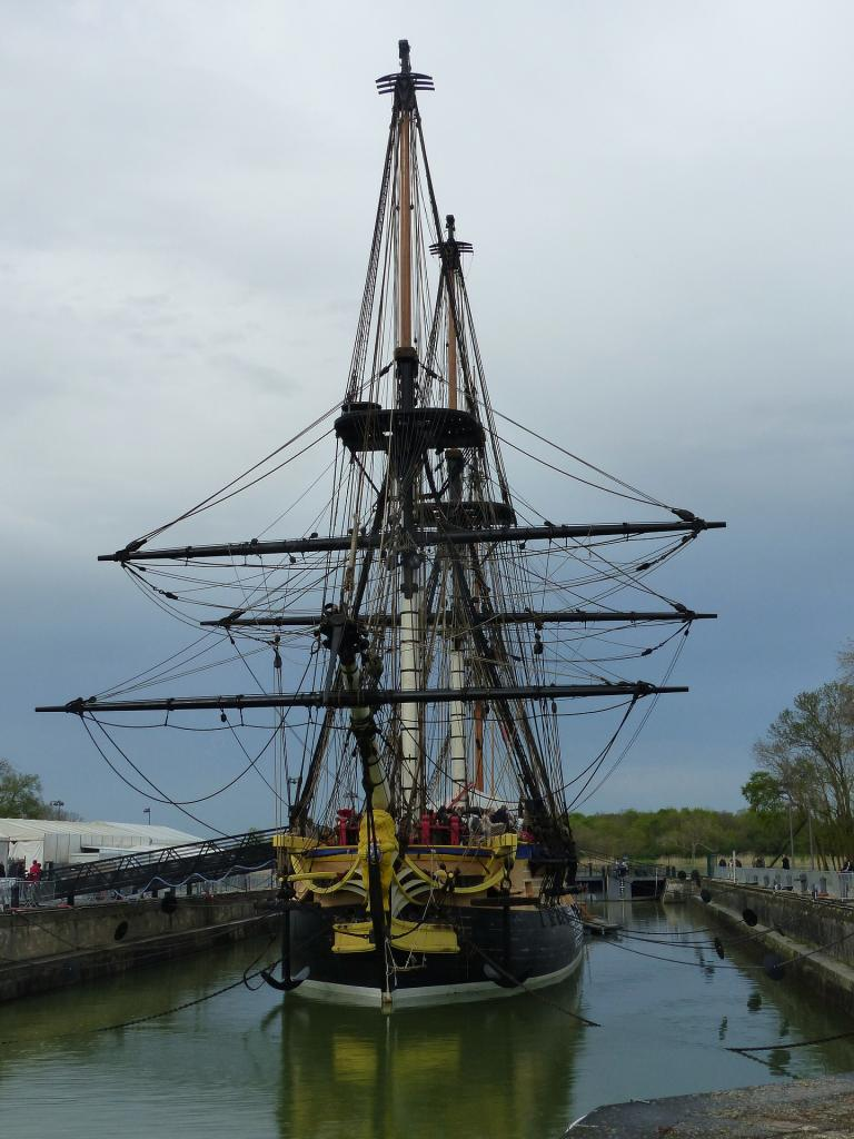 Hermione Ship - Rochefort France