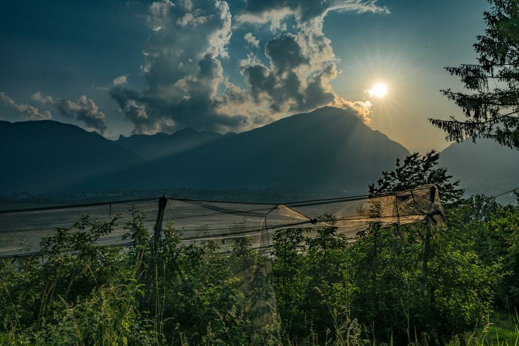 Visit Trentino - Golden Hour in the Dolomite Mountains - Country side