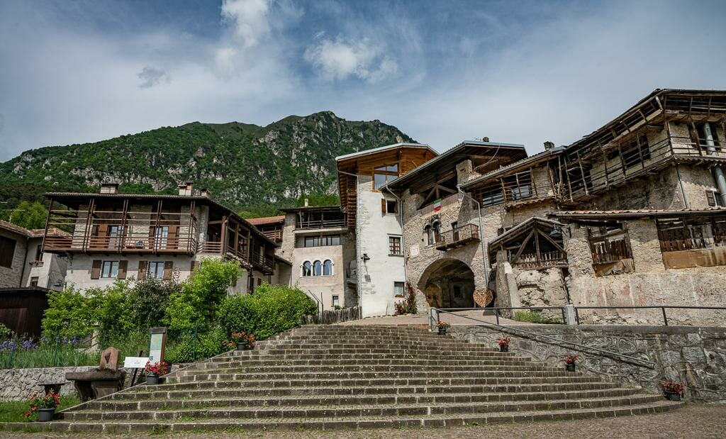 Visit Trentino - Mountain Village Rango Trentino - Traditional Architecture in Trentino