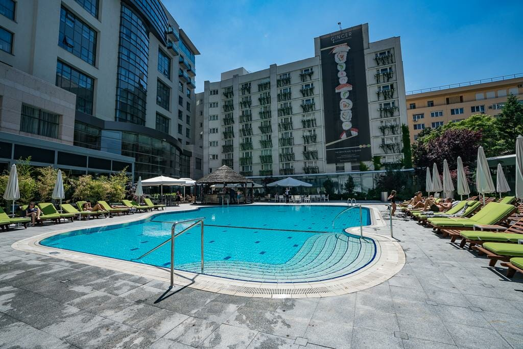 Pool at Radisson Blu Bucharest - Where to stay in Bucharest - Best Bucharest Hotels