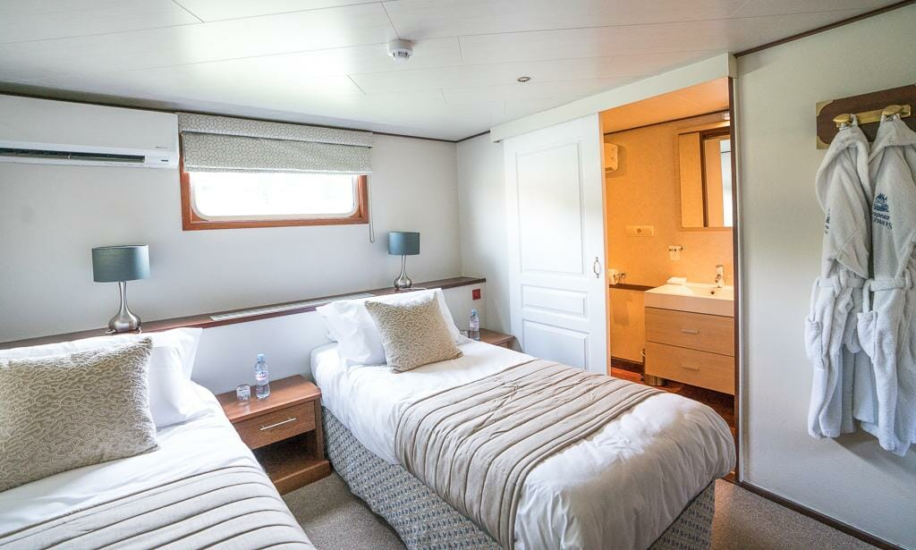Luxury Barge Cruises in France - Cabin on the Panache