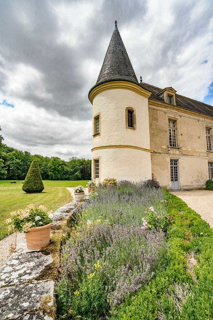 Beautiful French Chateau in Champagne | Luxury Barge Cruises in France