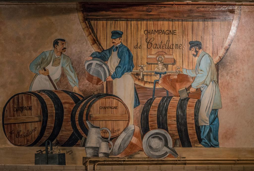 How Champagne is Made - Hautvillers - Village where Dom Pérignon's grave is - Champagne Region in France - Champagne Barge Cruise European Waterways