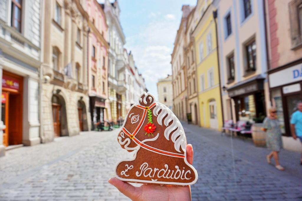 Day Trips From Prague - Gingerbread horse and pastel colored streets of Pardubice, Czech Republic