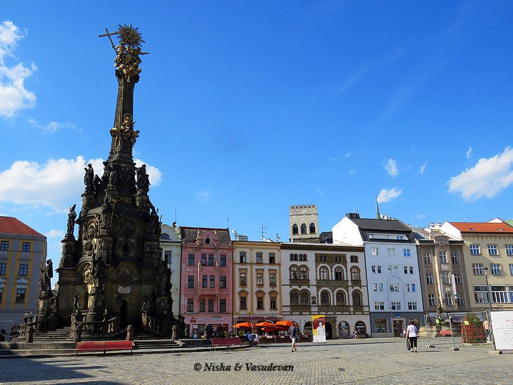 Best Day Trip from Prague - Old town square Olomuc - Prague Day Trip