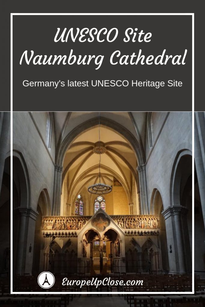 UNESCO Site Naumburg Cathedral Saxony-Anhalt TRANSROMANICA #History #UNESCO #architecture #Travel #traveling #Traveltips #Germany #churches #church #saxonyanhalt #transromanica