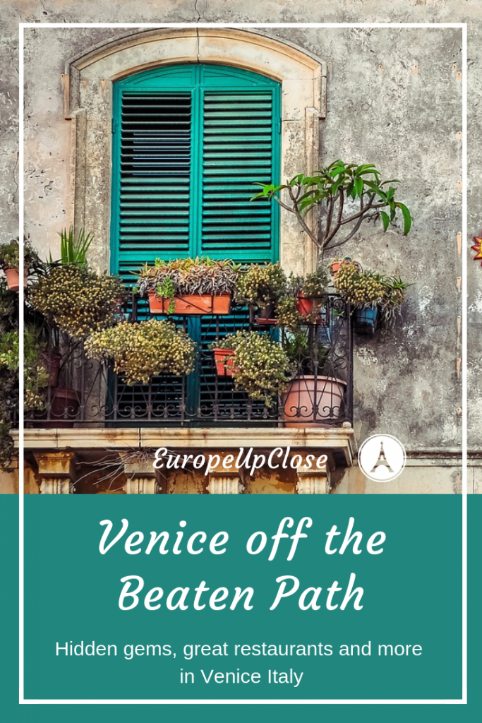 Venice off the Beaten Path - Hidden Gems in Venice - #Venice #Italy #Italian #Traveltips #Travel #Traveling #ItalyTrip #Italytrips #Italian #Venedig #Italytravel