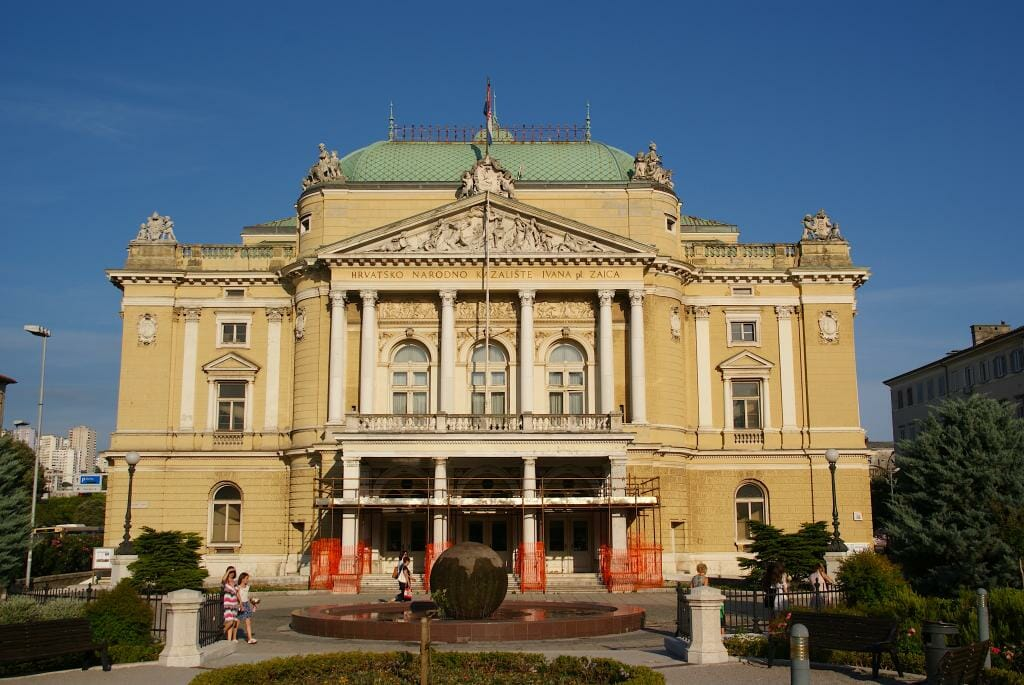 Croatian National Theatre-Rijeka Croatia