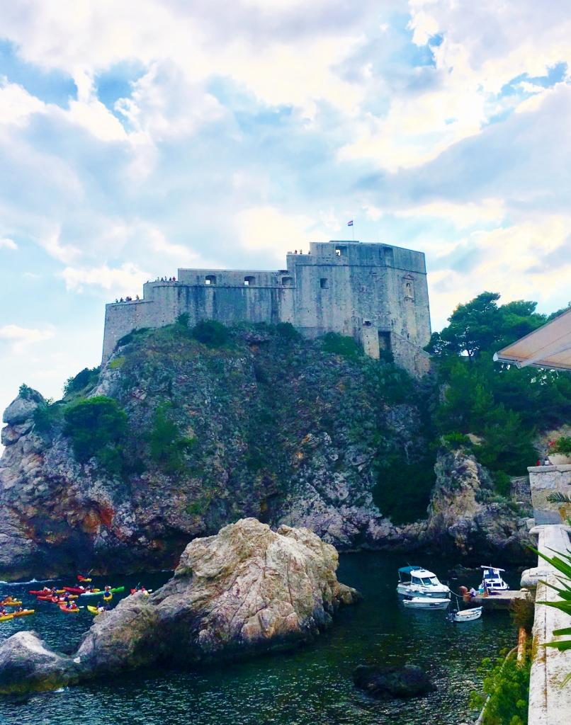 One Day in Dubrovnik-bokar fortress