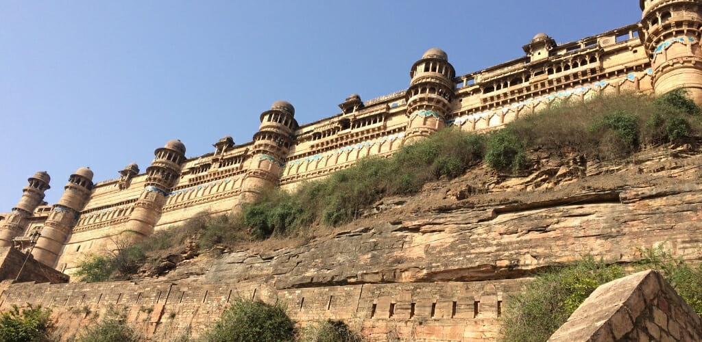 Best Madhya Pradesh Tourist Places - Gwalior Fort - Sarah Carter