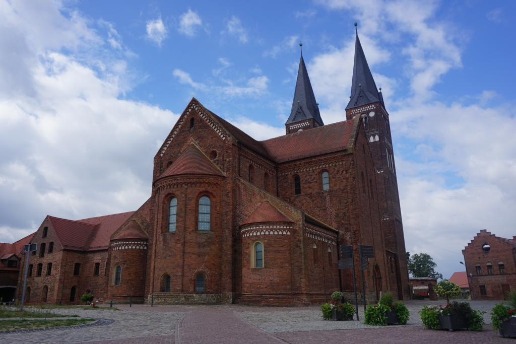 Jerichow Monastery - Romanesque Architecture examples in Germany - Saxony-Anhalt