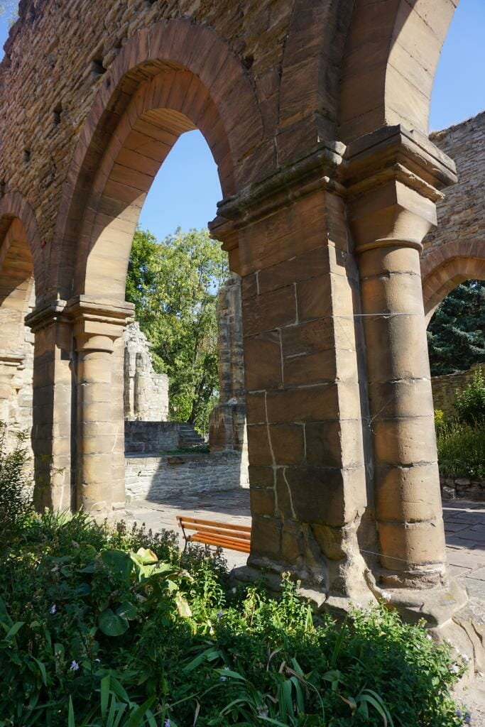 Memleben Monastery and Imperial Palace - TRANSROMANICA -Top Examples of Romanesque Architecture in Germany - Saxony-Anhalt