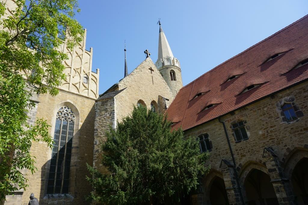 Merseburg Cathedral gardens - Romanesque Architecture in Germany - Saxony-Anhalt