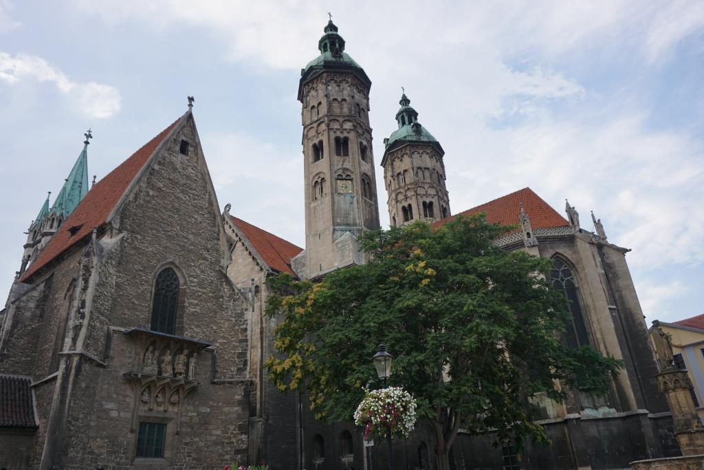 Naumburg Cathedral UNESCO Site Germany - TRANSROMANICA - Examples of Romanesque Architecture in Germany - Saxony-Anhalt Romantic Roads