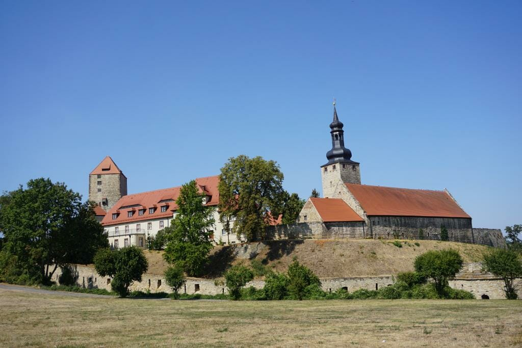 Querfurt Castle - Transromanica - Examples of Romanesque Architecture in Germany - Saxony-Anhalt