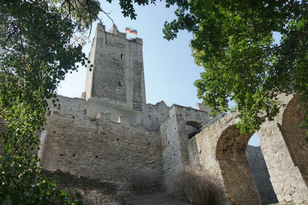Rudelsburg Castle - TRANSROMANICA - Best Examples of Romanesque Architecture in Germany - Saxony-Anhalt