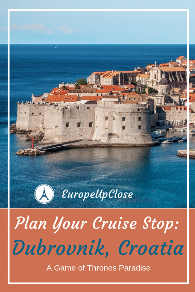 Best Things To Do in Dubrovnik - Games of Thrones - Dubrovnik Sights #dubrovnik #croatia #gameofthrones #GOT #KingsLanding #Cruise #MediterraneanCruise #Cruises #Cruising #Mediterranean #Europe #travel #traveler #Traveling