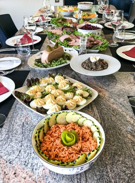 Traditional French Cuisine - Farmhouse style French Dishes - Food Travel Vacation with European Waterways