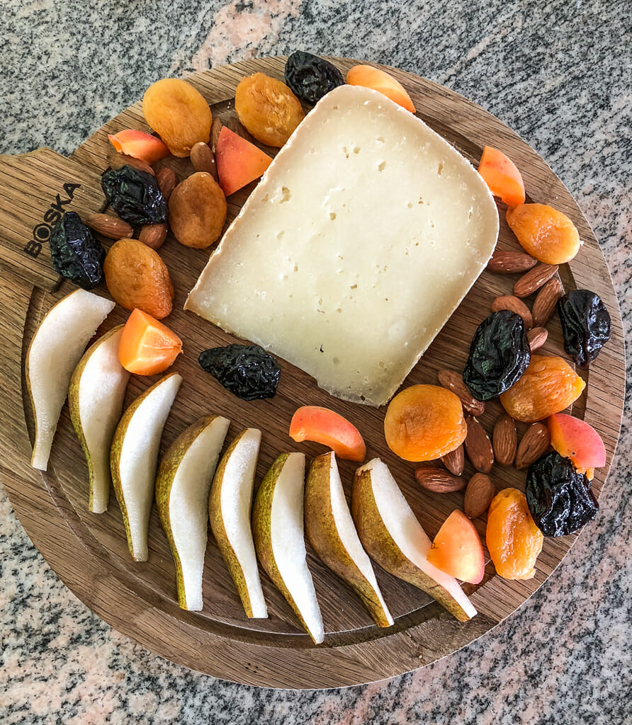 Food Travel Vacation - Delicious French Cheese on board of the Panache with European Waterways