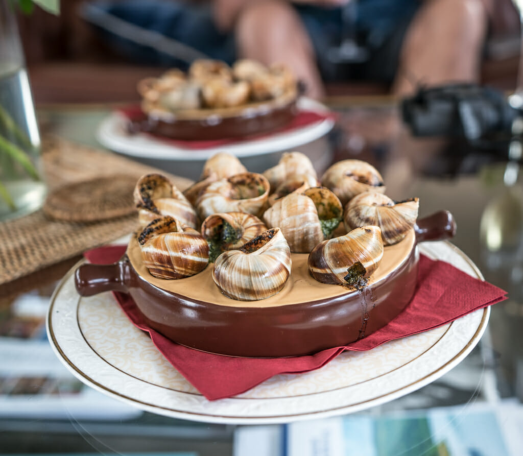 Traditional French Dishes: Snails in Garlic Butter - Food Travel with European Waterways