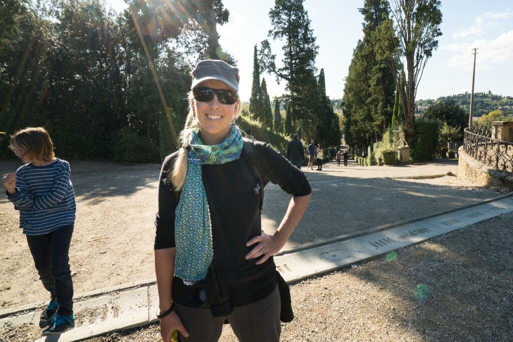 Travel Scarf with secret pocket - Holiday Packing List Tips by Melynda Coble Harrison