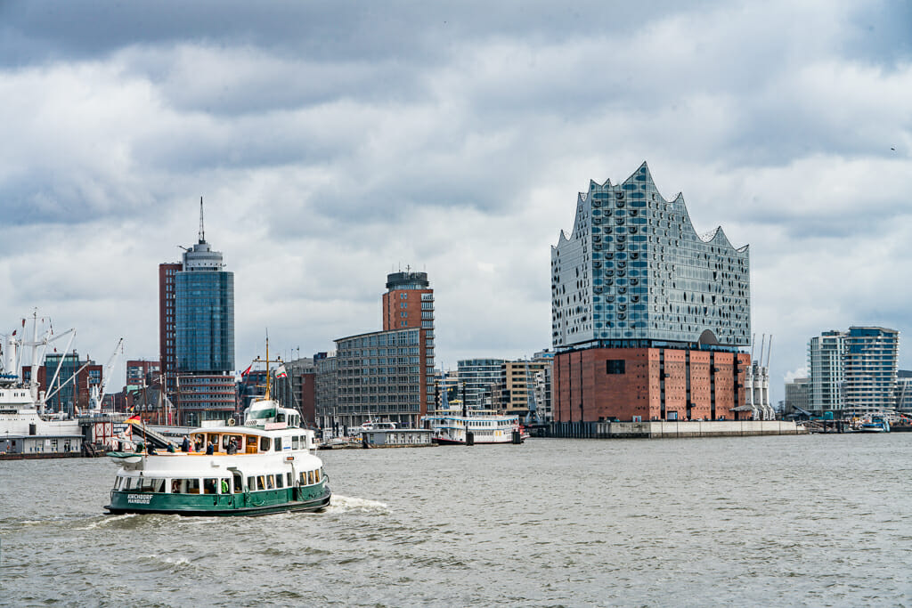 River Elbe with Elbphilharmonie and Boats - Things to do in Hamburg