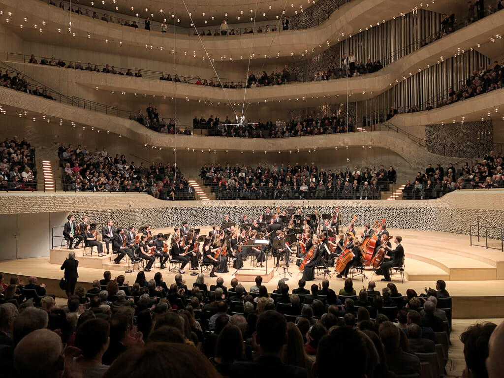 Concert Hall at Elbphilharmonie Hamburg