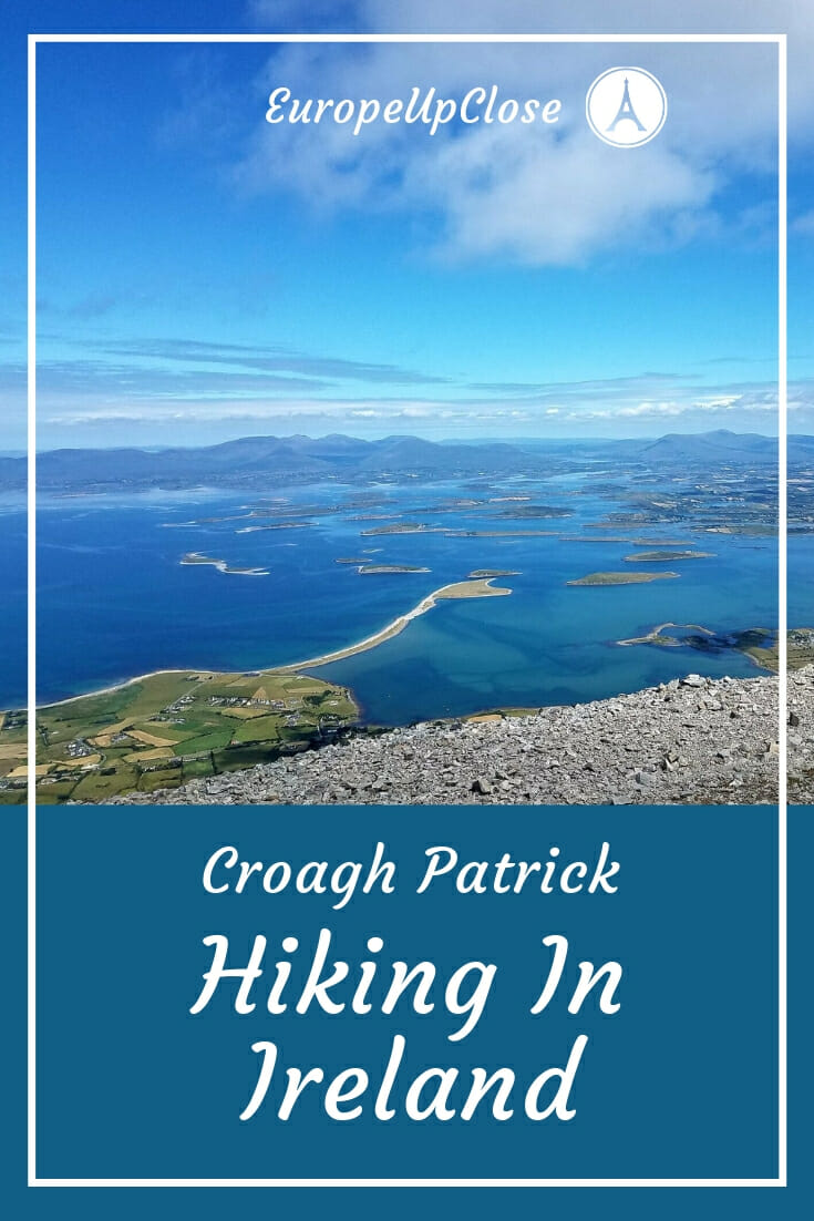 View from Croagh Patrick, Ireland