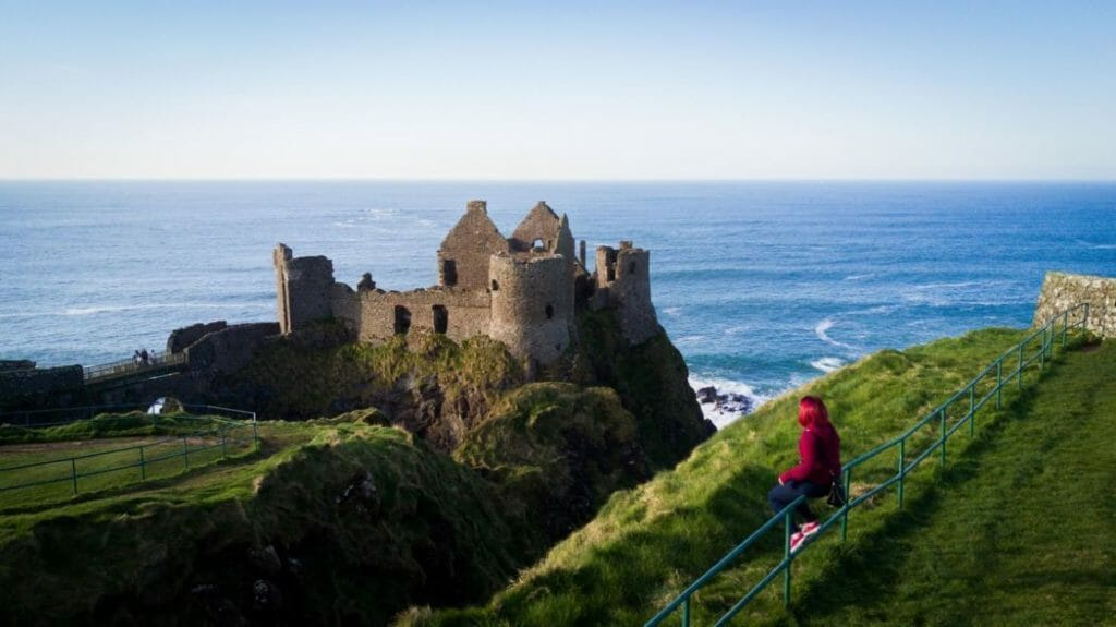 Dunluce Castle Northern Ireland Game of Thrones Film locations