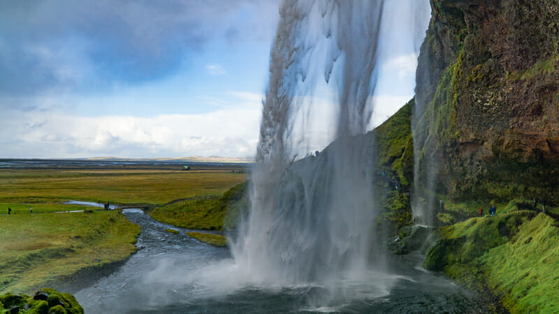 Waterfall Seljalandsfoss in Iceland - European Vacation Deals