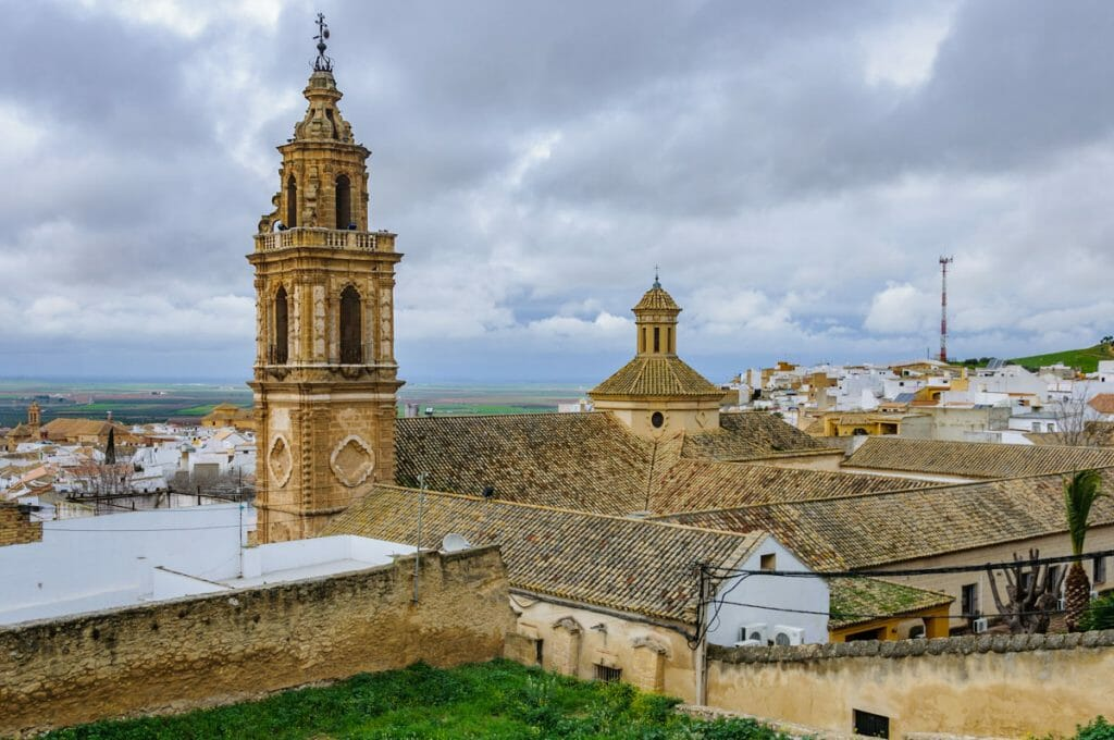 View over Osuna - UNESCO World Heritage Site and GOT Film location in Spain
