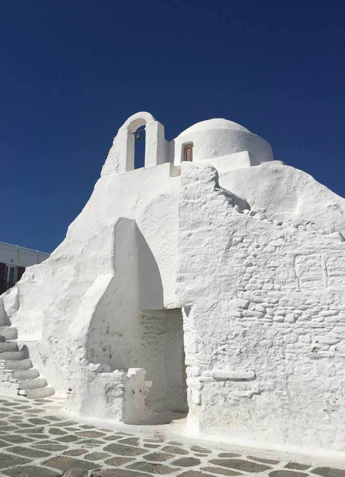 Ancient Church in Mykonos