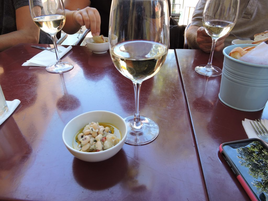Wine and Codfish in Lisbon