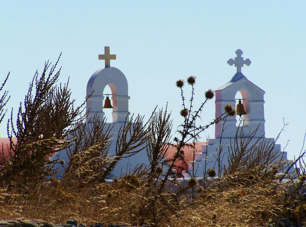 View of Greek church