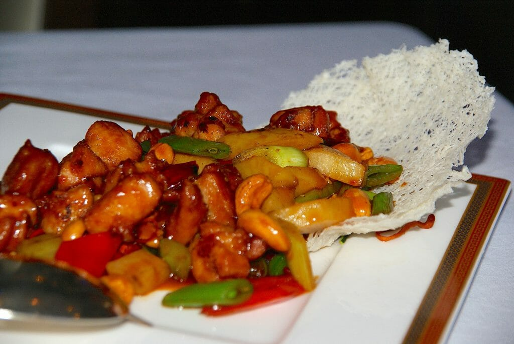 Cashew chicken from Lili