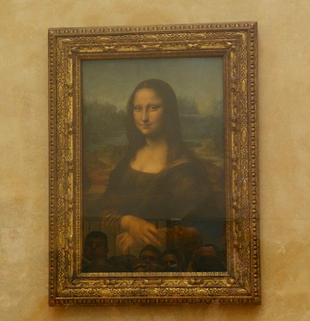 Mona Lisa in Le Louvre