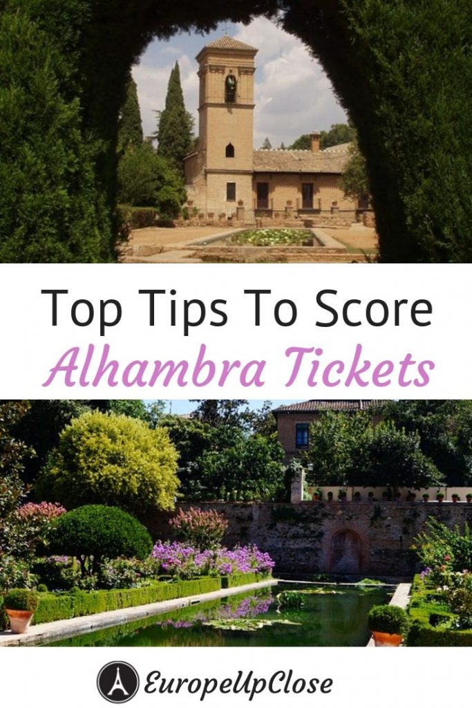 Click here to find out how you can score Alhambra tickets. Read this guide to discover how you can view the most culturally saturated palace in Spain. #europetrip #europetravel #europeitinerary #traveltips #travel #spaintrip #spaintravel #luxurylifestyle #luxurytravel #alhambra #alhambraspain #spain #southerneurope #alhambratickets