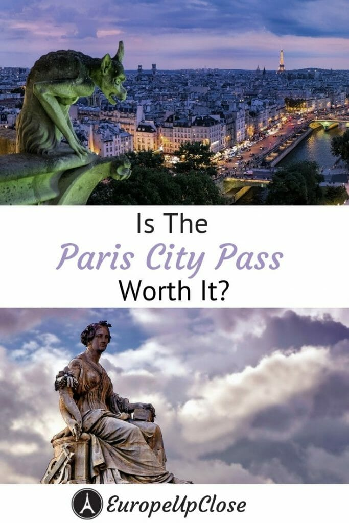 Is The Paris Pass Worth It? Detailed Review of the Paris City Pass and more Paris Travel Tips! Read this before deciding whether or not the buy the Paris City Pass. This in-depth review includes what you get access to and tours the pass doesn't have. #europetrip #europetravel #europeitinerary #traveltips #travel #francetrip #francetravel #luxurylifestyle #luxurytravel #paris #parisfrance #france #cityofparis #parispass #france #francetravel #paristravel #paristrip #francetraveltips #paristraveltips