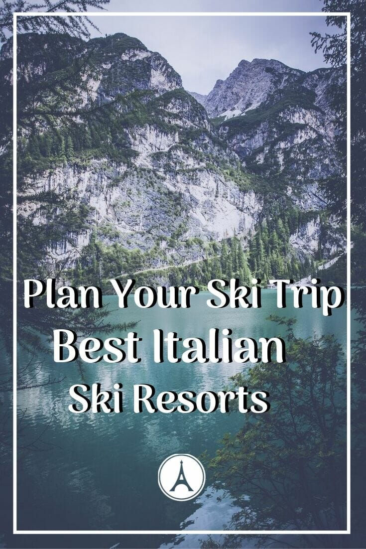Read this before taking a ski trip to Europe. Find all the best Italian ski resorts and discover your perfect winter vacation match. #europetrip #europetravel #europeitinerary #traveltips #travel #italytrip #italytravel #luxurylifestyle #luxurytravel #dolomites #dolomitesitaly #italy #italianalps #italianskiresorts