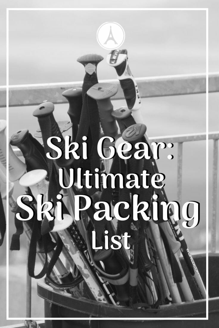 MUST READ before going on a ski trip. Discover what ski gear you need to pack and which products are the absolute best on the market. #europetrip #europetravel #europeitinerary #traveltips #travel #skitrip #skitravel #luxurylifestyle #luxurytravel #skipackinglist #skiessentials #skiing #skiingtrip #skiing